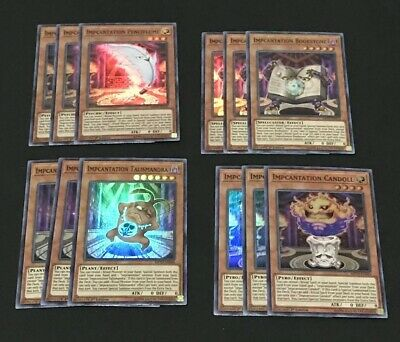 Yugioh! Impcantation Super Rare Deck Core! Mp19 What You See Is What You Get!