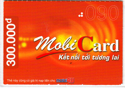 Vietnam -  nice pre-paid-card - 300.000 Dong - exp.-date 31.12.2003 - as scan