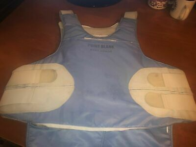 Point Blank Male Body Armor with Covert Carrier 42 R 3/2014