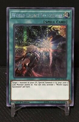 World Legacy Succession - MP19-EN038 - Prismatic Secret Rare - 1st Edition | YuG