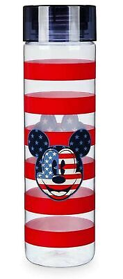 Disney Parks Mickey and Minnie Mouse Americana Water Bottle