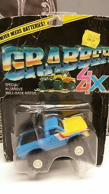 Stomper/Grabber 4x4 blue and yellow Toyota SR5 MOC 1982