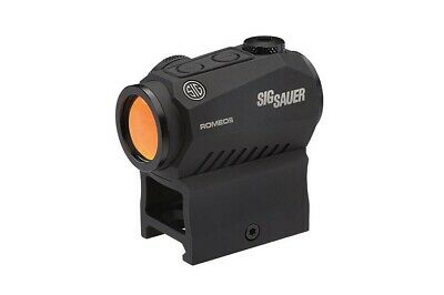 Sig Sauer ROMEO5 1x20mm 2 MOA Red Dot Sight SOR52001 with high and low mounts