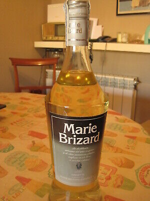Antigua Botella De Anís Marie Brizard, Con Sello. 1 Litro