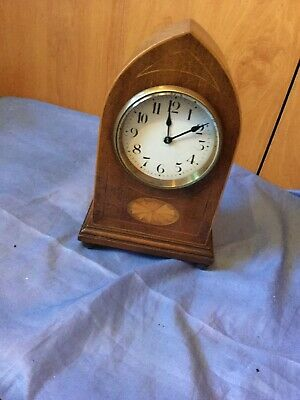 A Lancet Top French Mantel Clock For Spares/repair