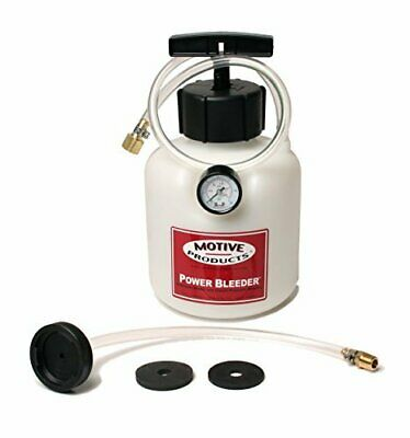Motive Products 0108 Brake System Power Bleeder For Most Late Model GM Cars