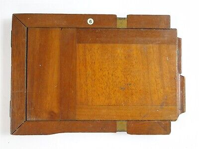Wooden Camera Darkslide 6 x 4.5 inches 1/2 Plate & 1/4 Plate Frames