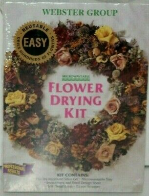 "Flower Drying Kit By ""Webster Group""  Professional Results Nib"