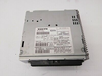 Volvo S40 V50 C30 Cd Player 31215559 31215560