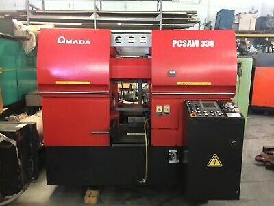 "Amada PCSAW 330, 2012, Horiz. Band Saw: 13"" MADE IN JAPAN CNC"