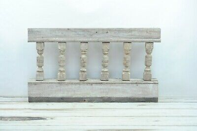 Antique Turned Balustrade Spindle Porch Rail Architectural Salvage