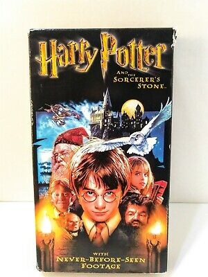 Harry Potter and the Sorcerers Stone (VHS) 2002 Tested