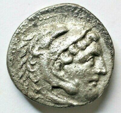 KINGS OF MACEDON. Alexander III 'the Great' (336-323 BC). Drachm 3.68gr;19mm.Obv