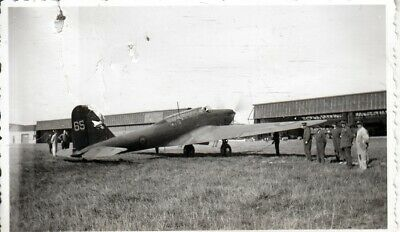 Org foto ABL: Fairey Battle I   65 3e Luchtvaartregiment Evere 1940  # 850