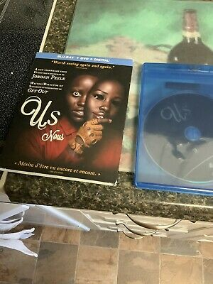 Us ( Bluray/DVD/Digital ) with Slipcover 2019