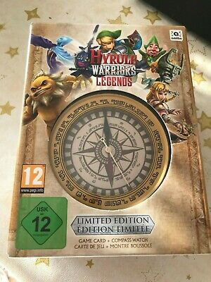 Nintendo 3DS Hyrule Warriors Legends Edition limitée Jeu + Montre collector !