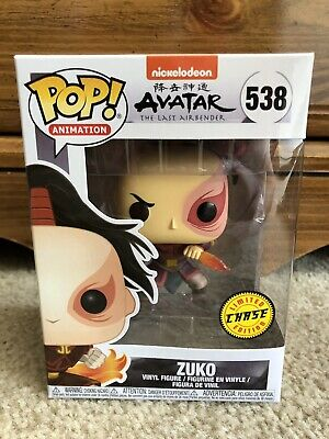 NEW Funko Pop Animation Nickelodeon Avatar The Last Airbender Zuko CHASE