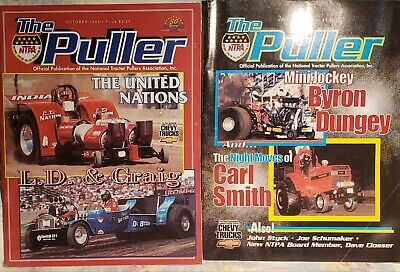 Lot Of 2 The Puller Magazines 2000 NTPA Truck Tractor Pulling