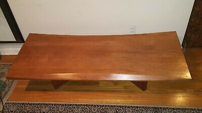 Chile Coffee table Hand carved Wood Table Beveled Edge Wonderful Large Wood