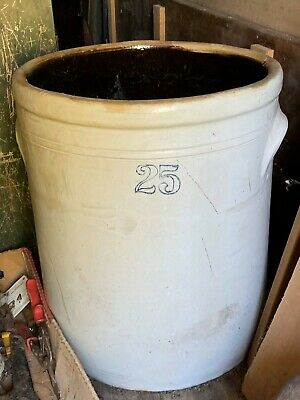 Stoneware Crock 25 Gallon