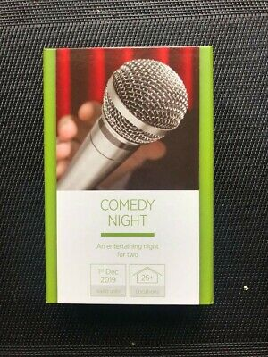 Activity superstore - Gift Experience Comedy Night! (£25 - Expires 01/12/2019)