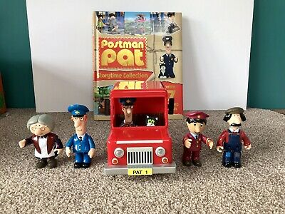 Postman Pat Toy Figures Bundle Including Storytime Collection 7 Stories Book