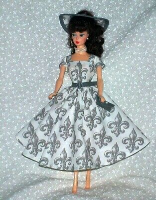Handmade New For Barbie Clothes Outfit Fits Vintage & Reproduction Dolls 5