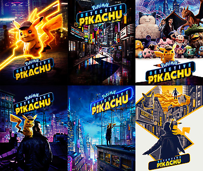 Magnet cover for steelbook Detective Pikachu Blu-ray