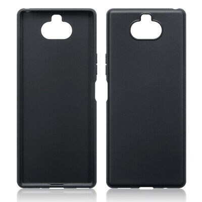 TPU Gel Case / Cover for Sony Xperia 20 - Solid Black Matte