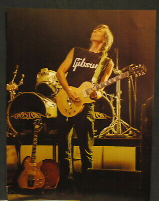 2014 Tom Scholz of Boston on stage pinup Poster