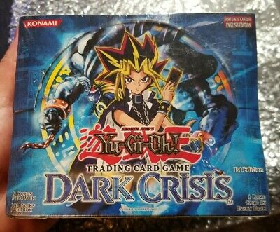 Yugioh 1st Edition SEALED Dark Crisis 36 pack Booster Box English EXTREMELY RARE