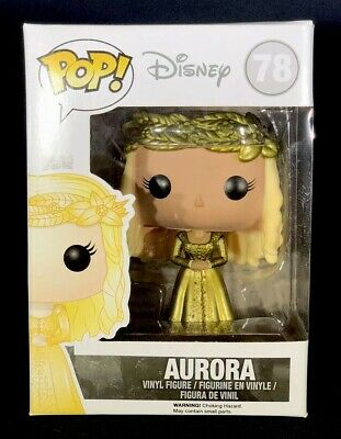FUNKO POP! Disney #78 Aurora Metallic NEW Vinyl Figure Retired Maleficent