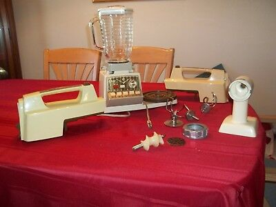 Vintage Oster Imperial 10 Speed Kitchen Center NO BOWL grinder has no blade