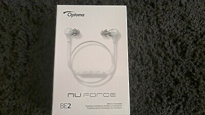Optoma Nuforce BE2 Wireless Bluetooth In-ear Headphones -White