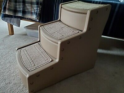 Pet Gear Easy Step III 3 Steps Dog Cat Pet Steps Ramp Excellent used condition!