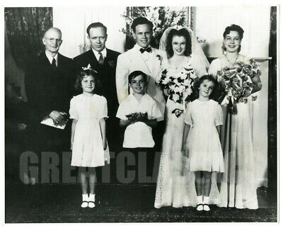 Marilyn Monroe James Dougherty Wedding Day 1942 Vintage Dblwt Photograph