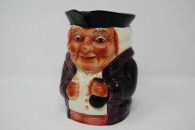 "Vintage Staffordshire Shorter & Son Toby Mug Jug Pitcher Hand Painted 5"" Lawyer"