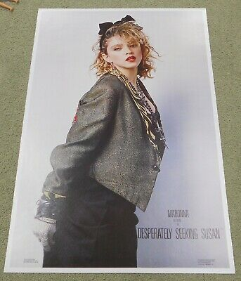 MADONNA Desperately Seeking Susan Vintage Original Poster 1985 USA Nice!