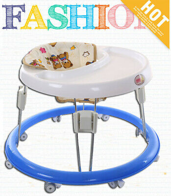 Baby Walker Anti Rollover Child Walker Seat Walking Aid Assistant First Step Car