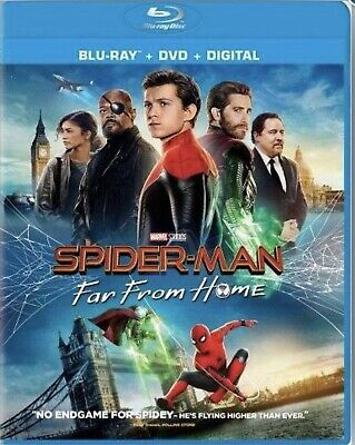 Spider-Man: Far From Home - Blu-Ray Disc Only - Ships 10/01 Release Date