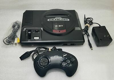 Sega Genesis Console System Model 1 Original *RECONDITIONED IN & OUT *VG+