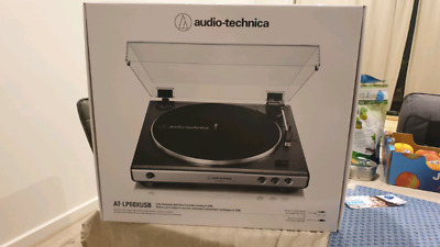 Brand New Auido Technica AT-LP60XUSB Turntable Record Player USB