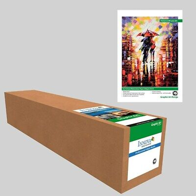 Innova Eco Solvent Watercolour Paper, 260GSM, IFA-93, 25m Roll