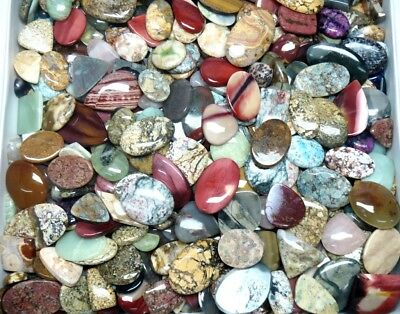 500cts. Per Lot Wholesale Natural Cabochon Lot Mix Shape Loose Gemstone