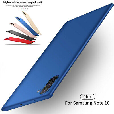 For Samsung Galaxy Note 10 Plus A70 Ultra Thin Shockproof Matte Hard Case Cover