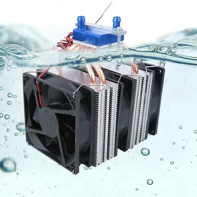DC 12V 100W Peltier Semiconductor Refrigeration Cooling System Kit Cooler Fan 8A