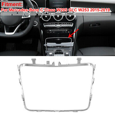 Inner Water Cup Holder Frame Trim For Mercedes-Benz C GLC Class W253 W205 15-19