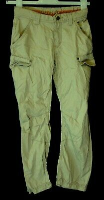Boys Next Stone Beige Cargo Combat Utility Cotton Casual Trousers Age 9 Years