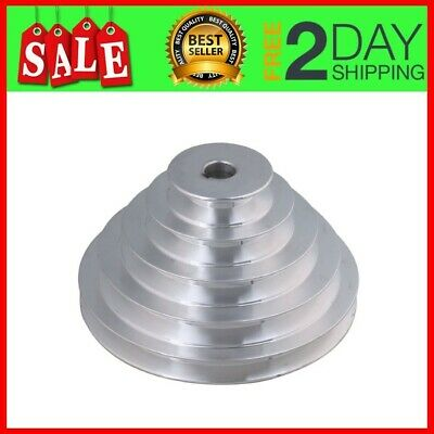 Mxfans 16mm Bore Outter Dia 54-150mm 5 Step A Type V-Belt Pagoda Pulley Belt