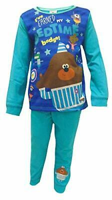 Toddler Boys Hey Duggee BEDTIME Pyjamas Pjs Nightwear 18 Months - 5 Years